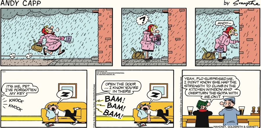 Andy Capp for Jul 21, 2013 Comic Strip