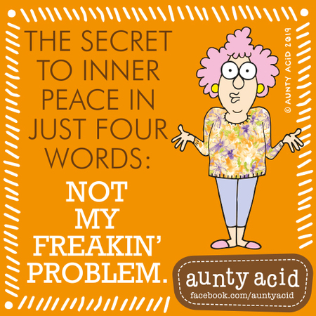 Aunty Acid by Ged Backland for August 15, 2019