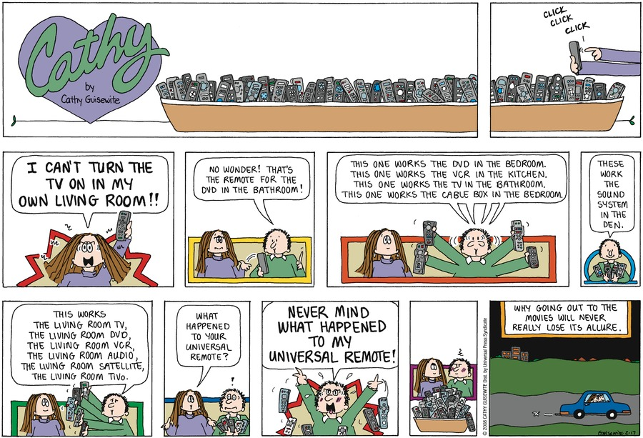 Cathy Comic Strip for February 17, 2019