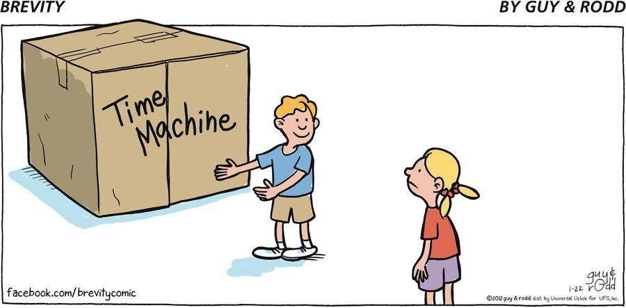 Brevity Comic Strip for January 22, 2012
