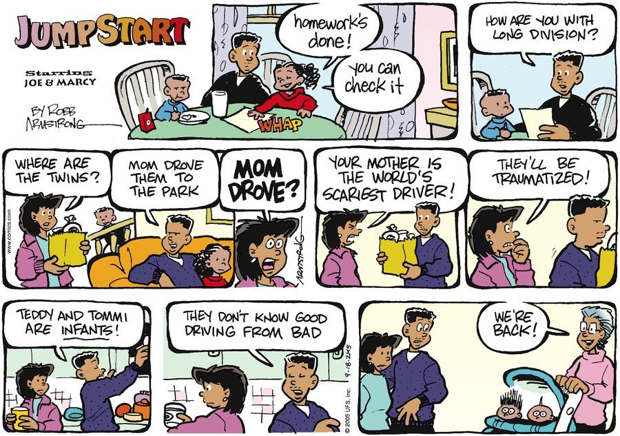 JumpStart Comic Strip for September 18, 2005