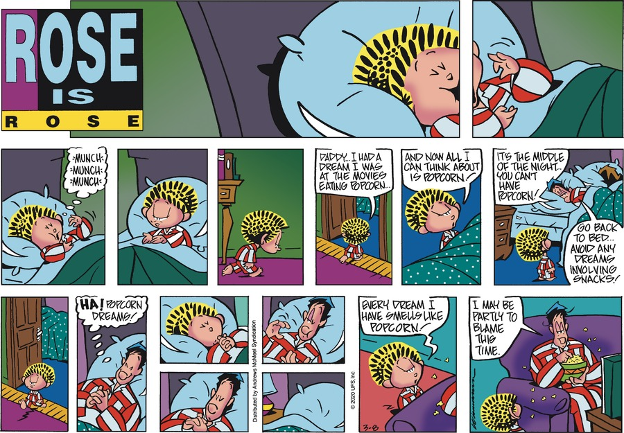 Rose is Rose Comic Strip for March 08, 2020