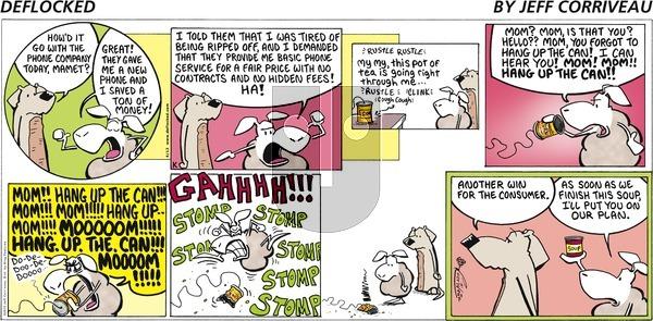 DeFlocked on Sunday April 12, 2015 Comic Strip