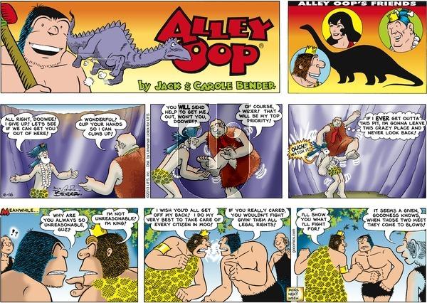 Alley Oop on Sunday June 16, 2013 Comic Strip