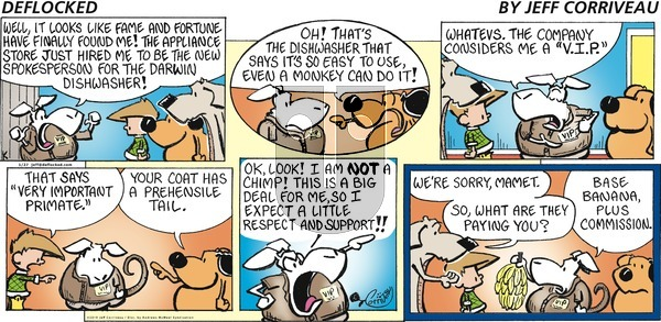 DeFlocked on Sunday January 27, 2019 Comic Strip