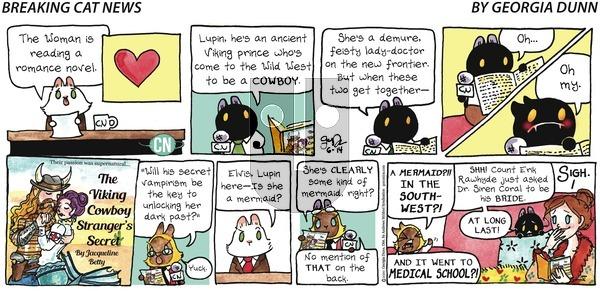 Breaking Cat News - Sunday June 14, 2020 Comic Strip
