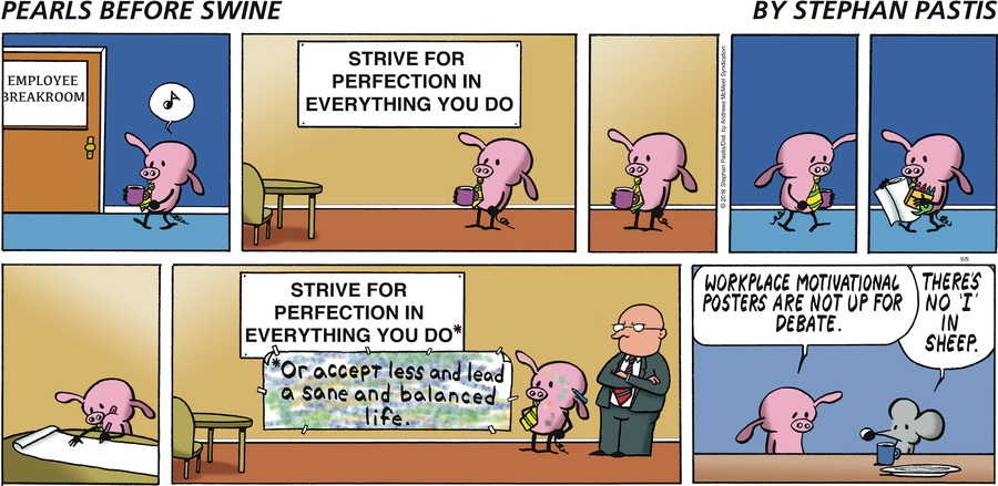 Pearls Before Swine Comic Strip for September 09, 2018