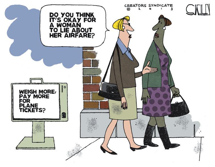 Steve Kelley for Apr 4, 2013 Comic Strip