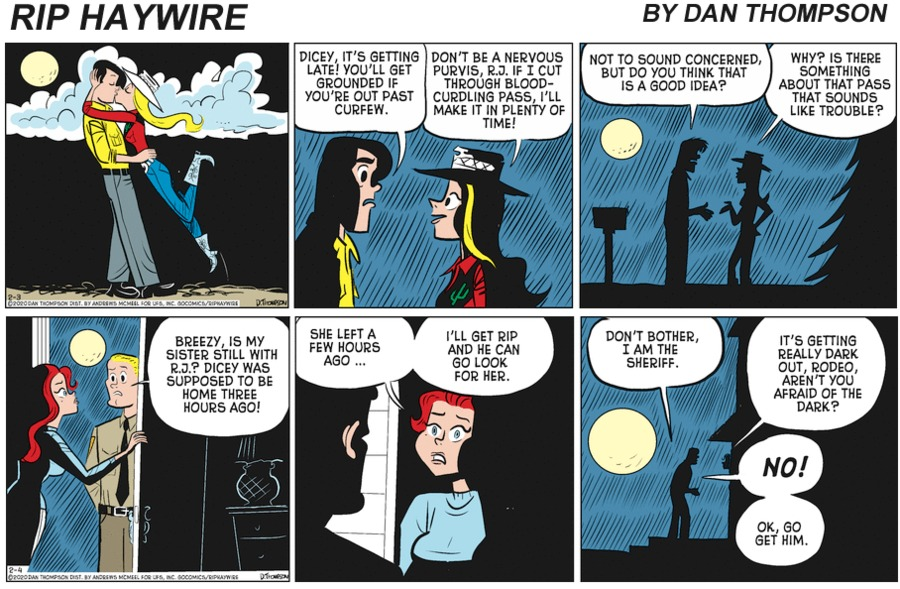 Rip Haywire Comic Strip for June 20, 2021