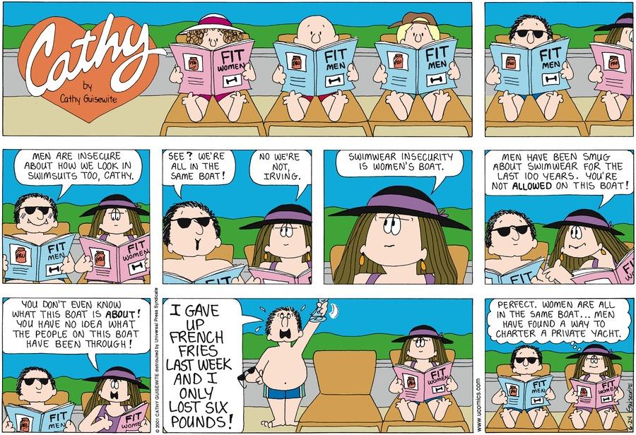 Cathy for Jun 24, 2012 Comic Strip