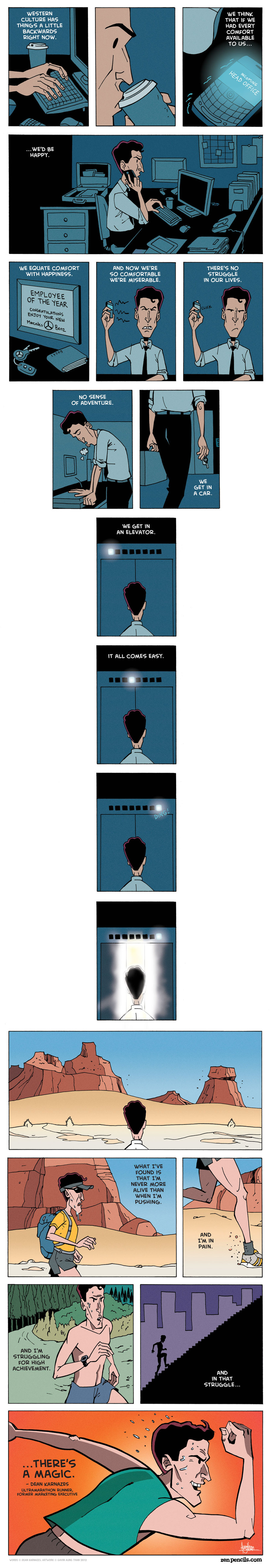 Zen Pencils Comic Strip for August 30, 2013