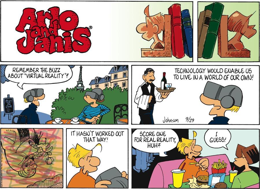 Arlo and Janis for Sep 29, 2013 Comic Strip