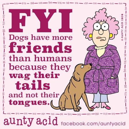 Aunty Acid Comic Strip for February 07, 2020