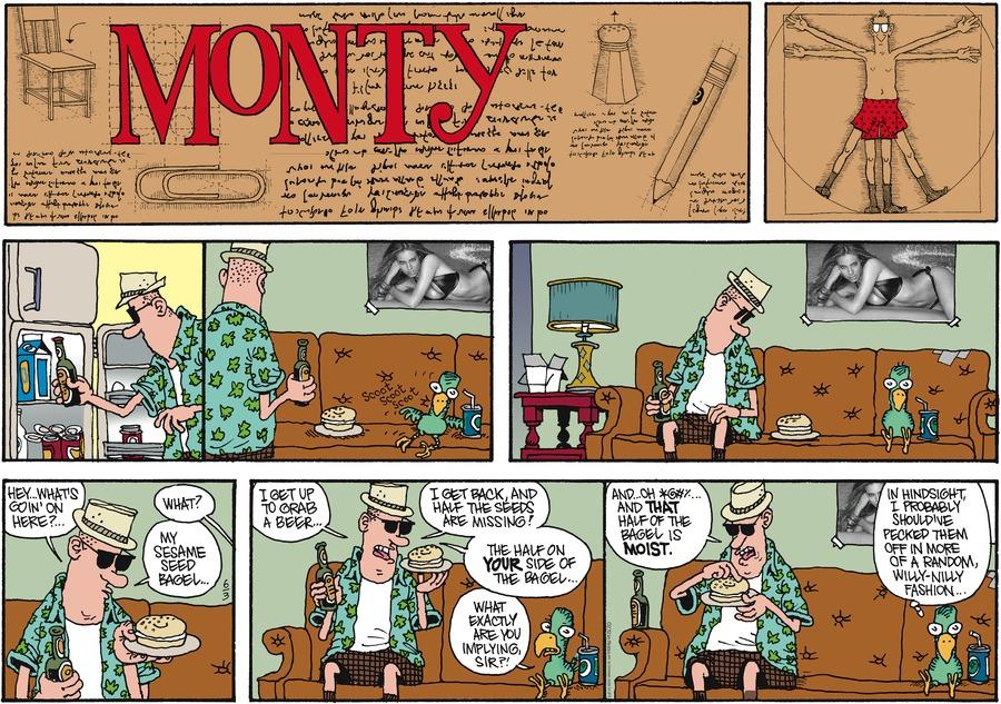 Monty for Jun 3, 2012 Comic Strip