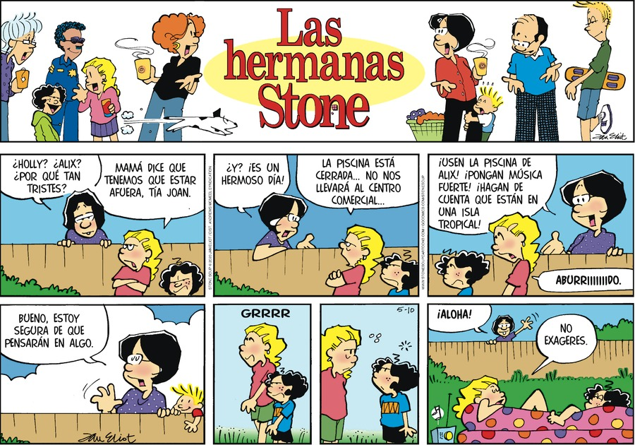 Las Hermanas Stone Comic Strip for May 10, 2020