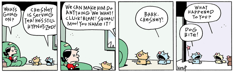 Ten Cats for Jan 23, 2014 Comic Strip