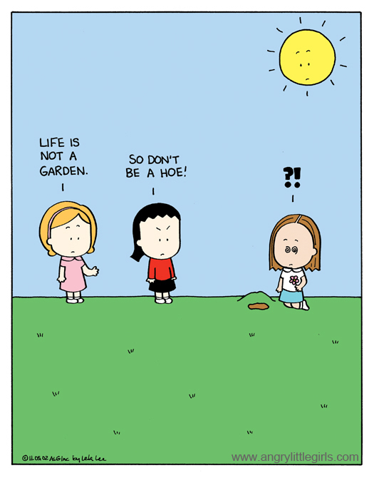 Angry Little Girls for Apr 21, 2014 Comic Strip