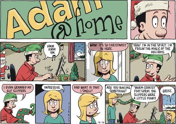 Adam@Home on Sunday December 16, 2018 Comic Strip