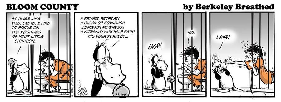 Bloom County 2019 Comic Strip for March 11, 2018