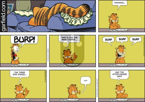 Garfield on Sunday October 13, 2019 Comic Strip
