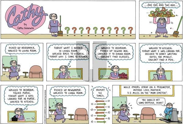 Cathy on Sunday May 31, 2009 Comic Strip