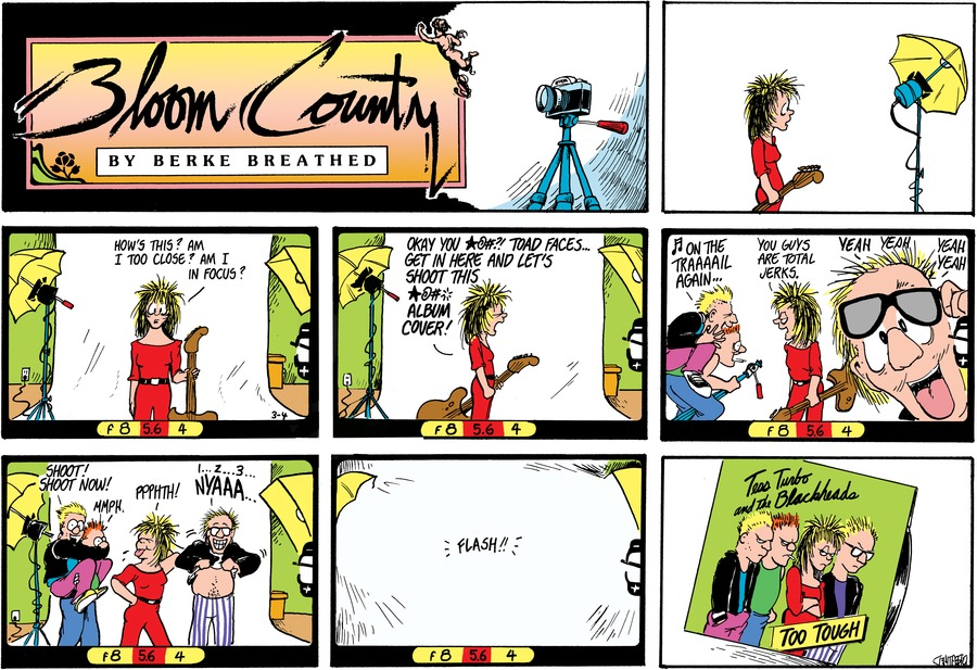 Bloom County by Berkeley Breathed on Mon, 06 Jan 2020