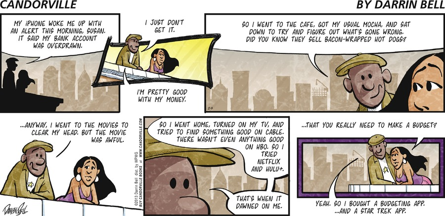 Candorville for Feb 3, 2013 Comic Strip