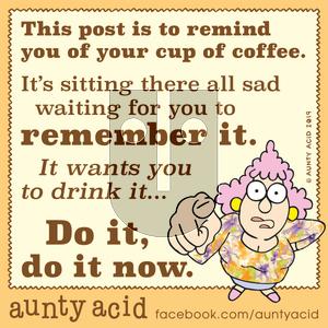Aunty Acid on Tuesday November 26, 2019 Comic Strip