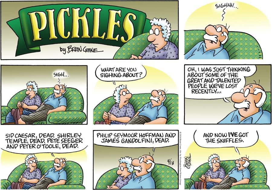 Pickles Comic Strip for April 13, 2014