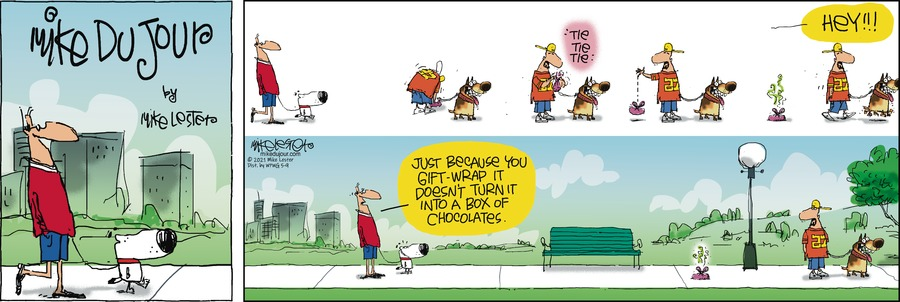 Mike du Jour Comic Strip for May 09, 2021