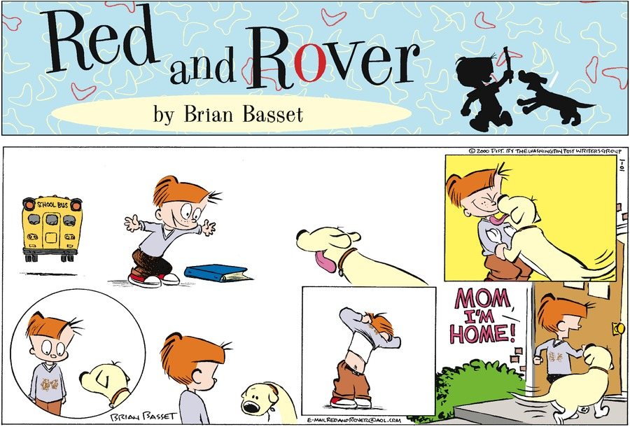 Red and Rover for Oct 1, 2000 Comic Strip