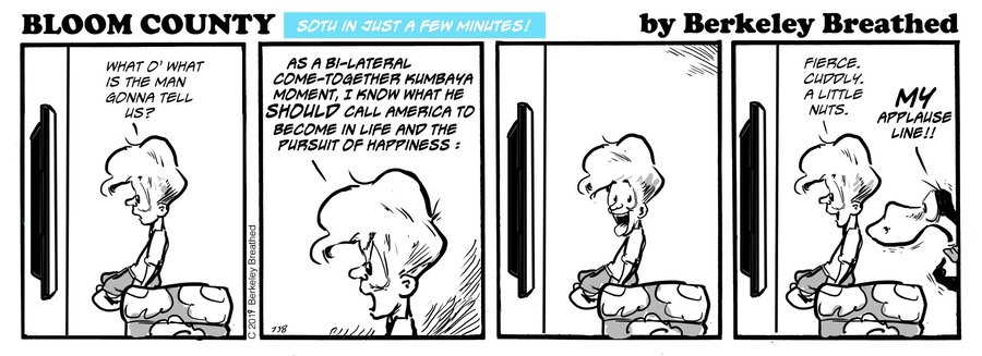Bloom County 2018 by Berkeley Breathed for February 12, 2019