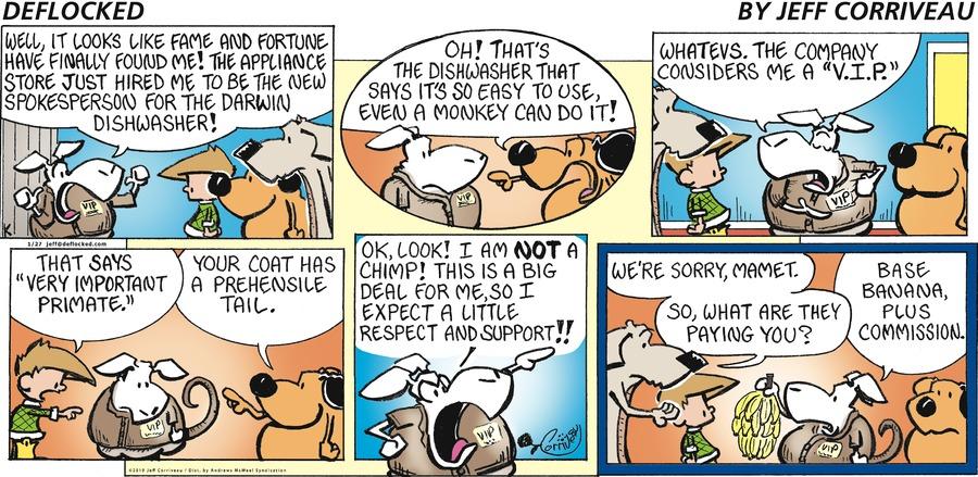 DeFlocked Comic Strip for January 27, 2019