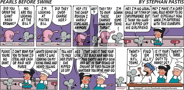 Pearls Before Swine on Sunday April 16, 2017 Comic Strip