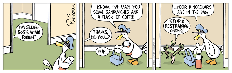 Ollie and Quentin Comic Strip for April 22, 2019