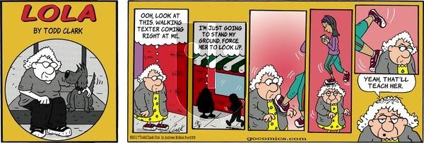Lola on Sunday December 3, 2017 Comic Strip