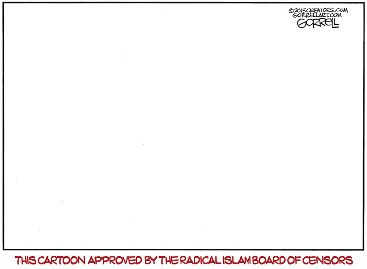 Bob Gorrell Comic Strip for January 13, 2015