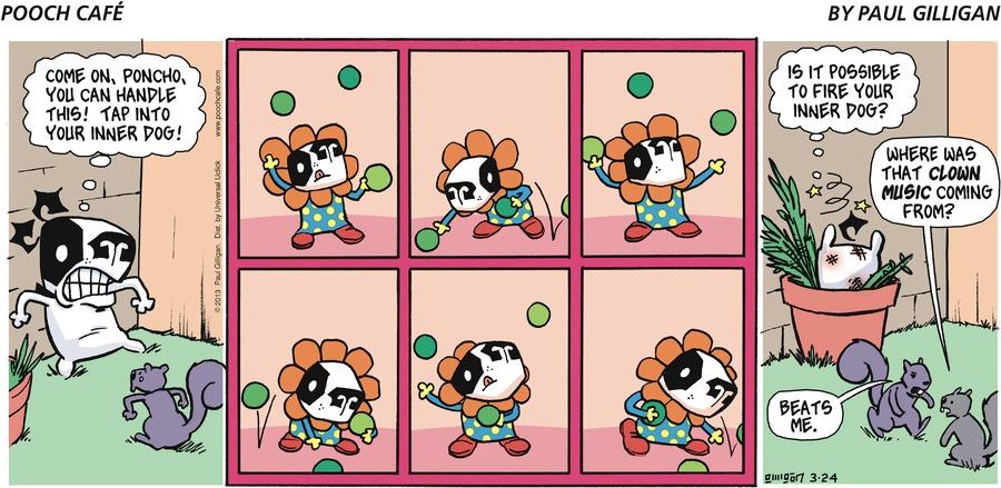 Pooch Cafe for Mar 24, 2013 Comic Strip