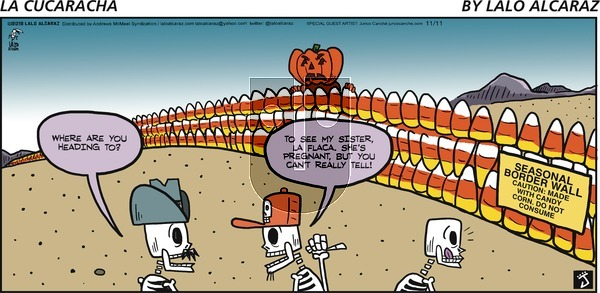 La Cucaracha on November 11, 2018 Comic Strip
