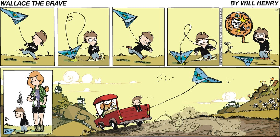 Wallace the Brave Comic Strip for September 02, 2018