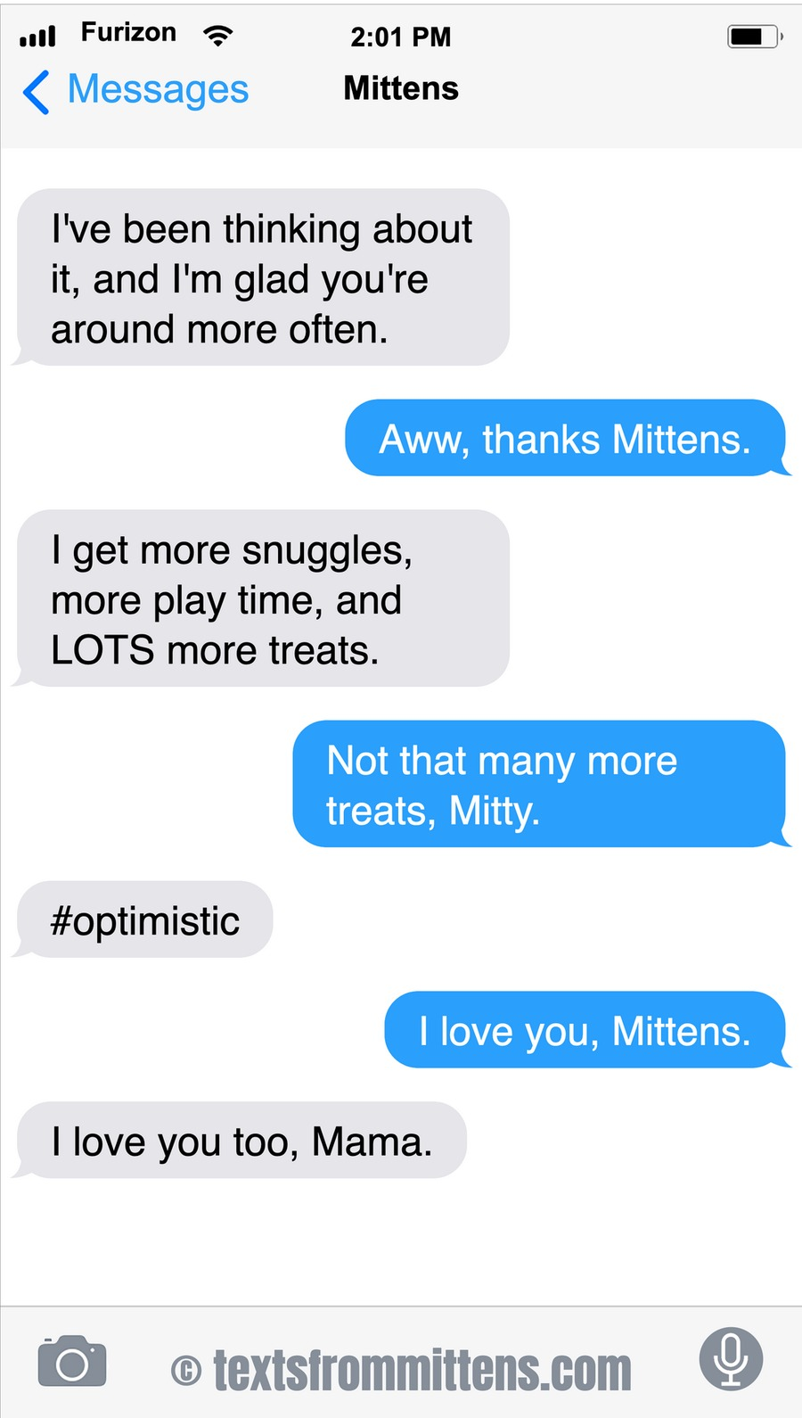 Texts From Mittens by Angie Bailey on Sun, 07 Mar 2021