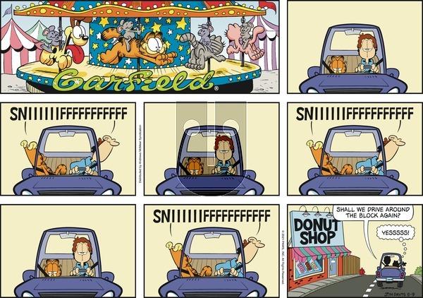 Garfield on Sunday May 9, 2021 Comic Strip
