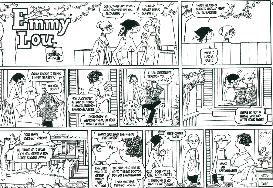 Emmy Lou for Aug 25, 2013 Comic Strip