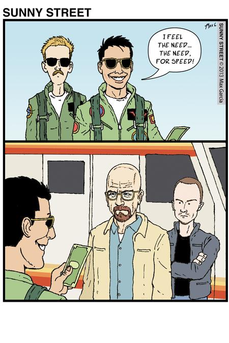 Sunny Street for Jun 18, 2013 Comic Strip