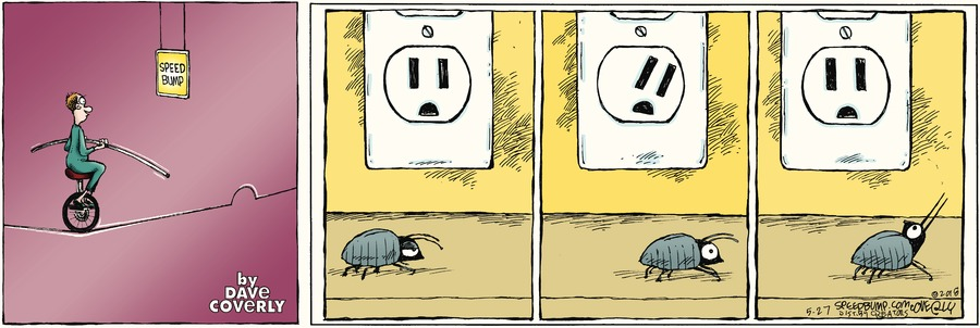 Speed Bump Comic Strip for May 27, 2018