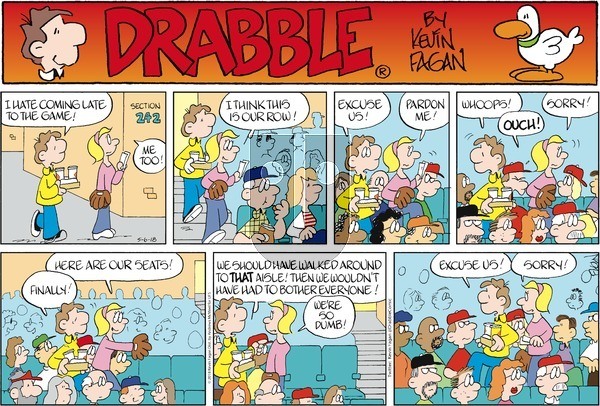Drabble on Sunday May 6, 2018 Comic Strip