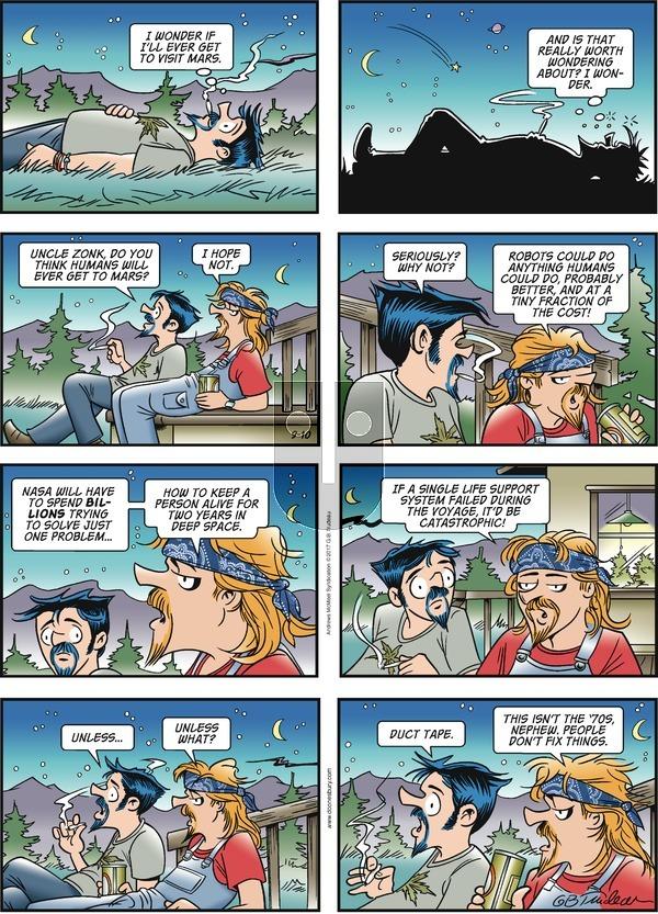 Doonesbury on Sunday September 10, 2017 Comic Strip