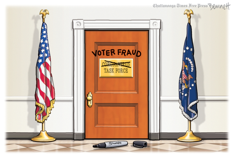 Clay Bennett Comic Strip for November 14, 2020