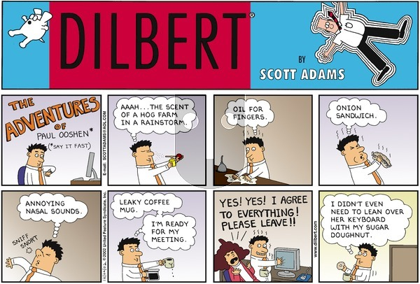 Dilbert - Sunday December 22, 2002 Comic Strip