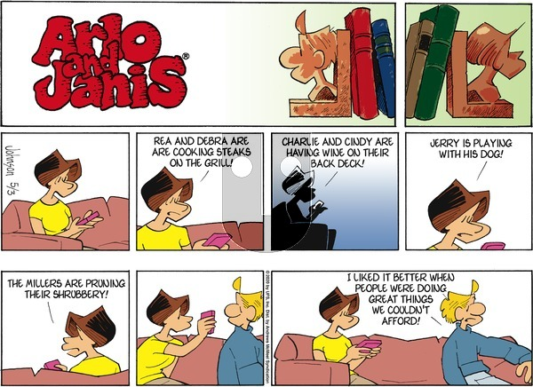 Arlo and Janis on Sunday May 3, 2020 Comic Strip
